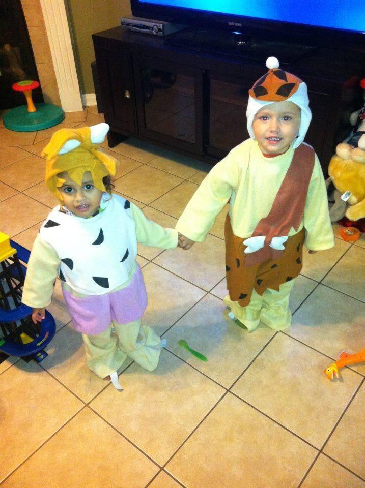 Kids Fred Flintstone Costume. SaveEnlarge · Bam ...  sc 1 st  Meningrey & Pebbles And Bam Bam Kids Costumes - Meningrey