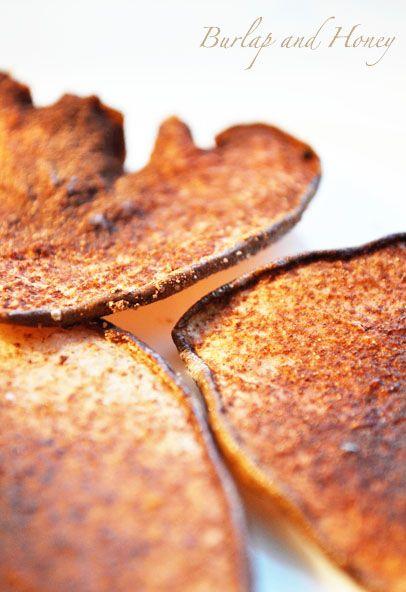 Cocoa Pear Crisps | Good Food | Pinterest