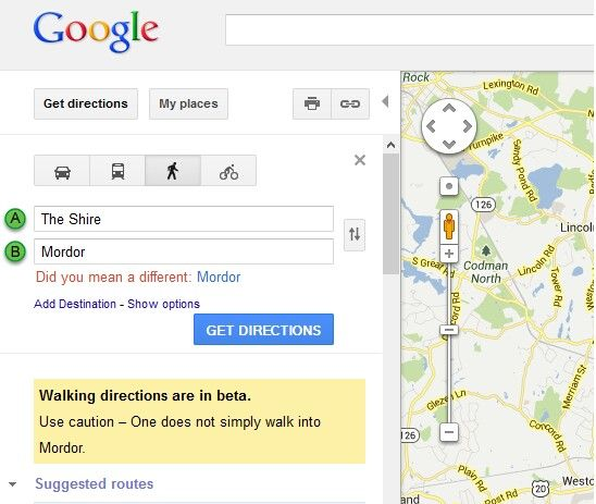 Walking directions from one place to another myideasbedroom com