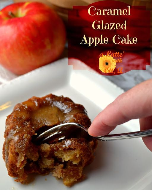 Caramel Glazed Apple cake from @Gooseberry Patch Homemade Christmas ...