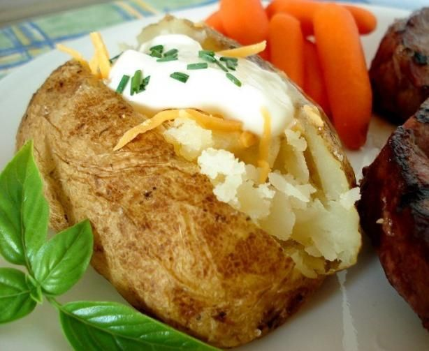 """Grilled """"baked"""" Potatoes. It honestly doesn't matter, I'm a..."""