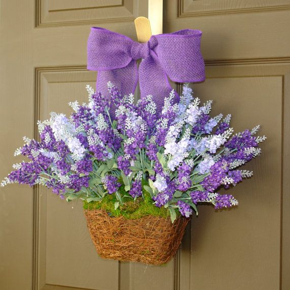 Spring wreath easter wreaths lily of the valley wreath front door dec