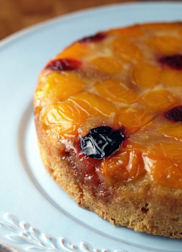 Plum Upside-Down Cake | Real Epicurean | Pinterest