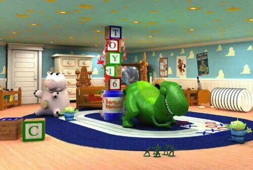 Toy story room kids rooms pinterest for Kids dream room