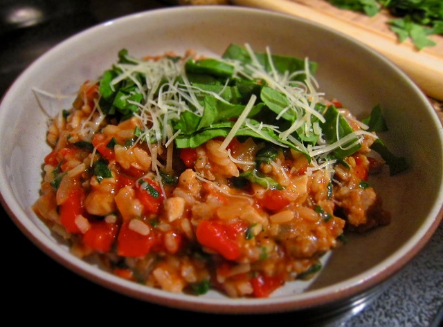tomato and sausage risotto | nom nom nom | Pinterest