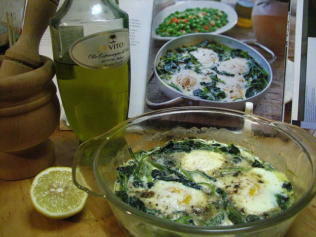 Spinach Baked with Eggs and Cream | Eating: an everyday event | Pinte ...