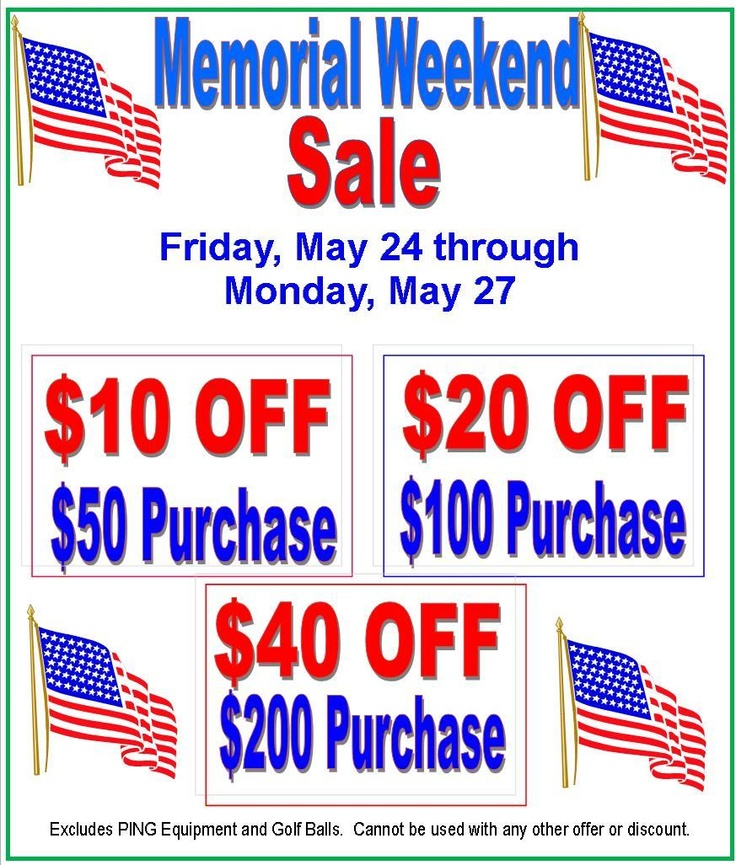 memorial weekend sales new york