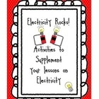 These are Electricity Printable Activities to supplement a unit on Electricity. I have created a workbook for the students - they complete their ac...