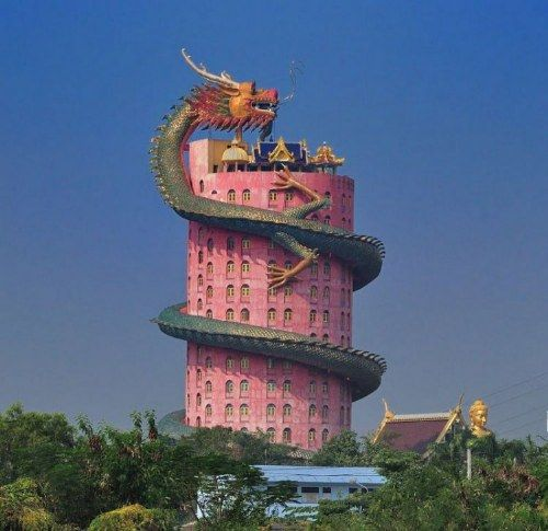 dragon temple thailand