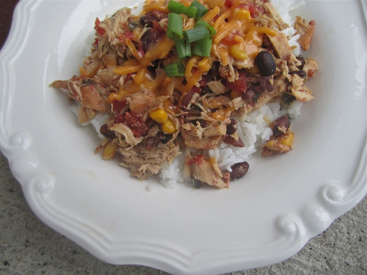 Crock Pot Santa Fe Chicken | Chicka the Chine and the Chinese Chicken ...
