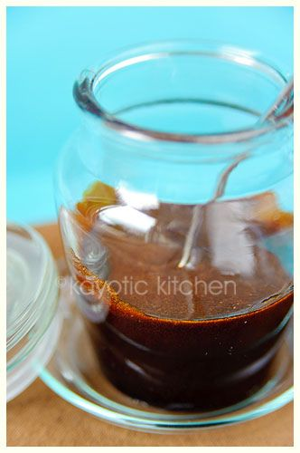 Ketjap Manis  - I'm so happy I can make my own. It's an Indonesian soy sauce popular in Dutch cooking.