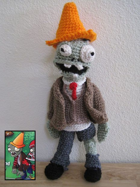 Picture of Plants vs. Zombies: Amigurumi Garden Variety Zombie