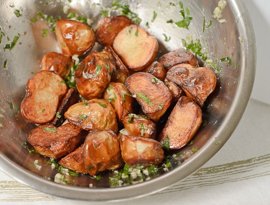 """Roasted Garlic Potatoes Recipe- Have many """"recipes"""" for this, but t..."""