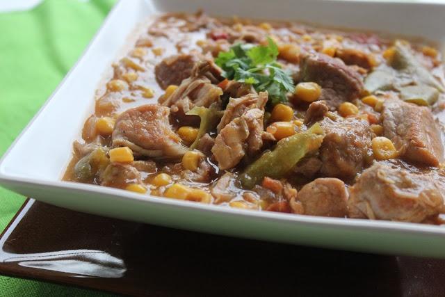Crock Pot Pork and Green Chile Stew | Crock Pot Recipes! | Pinterest