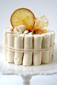 White Chocolate cake with orange flavor | summer ideas | Pinterest