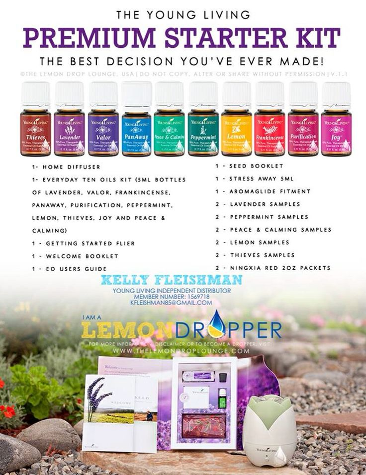 young living oils reference guide