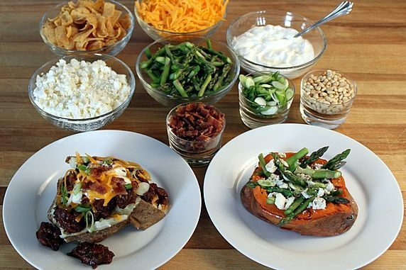 Baked Potato Bar | Table, Buffet and Party Ideas | Pinterest