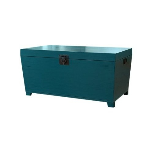 Turquoise Trunk Coffee Table Decor Pinterest