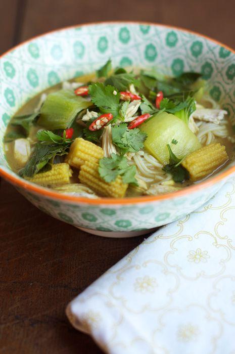 Thai Chicken Noodle Soup | SOUP | Pinterest
