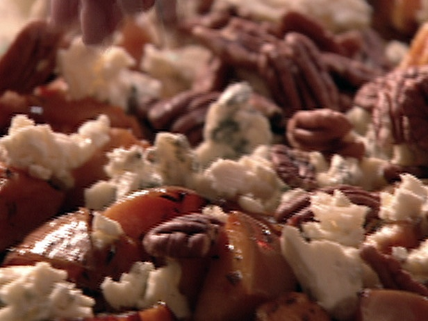 ... what i found! - Nigella's Butternut Squash With Pecans and Blue Cheese
