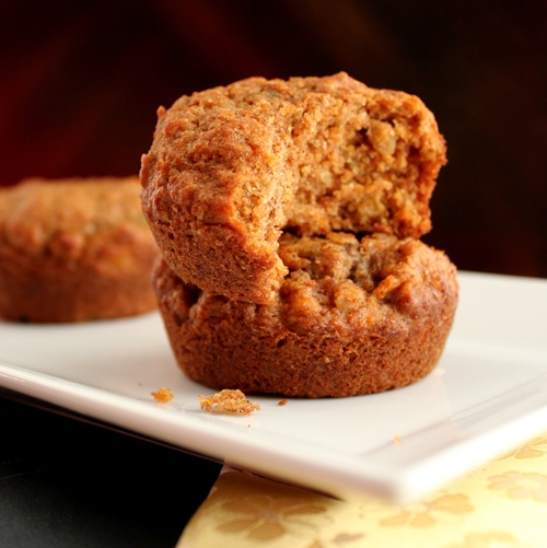 Whole-Grain & Sweet Potato Muffins.
