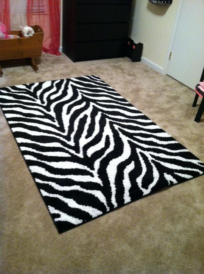 zebra rug from target for the home pinterest