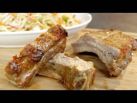 Vinegar and Spice Oven Ribs Recipe | 01 | Pinterest