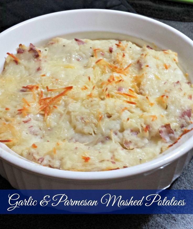 Garlic Parmesan Mashed Potatoes   Cooking: Frugal recipes   Pinterest