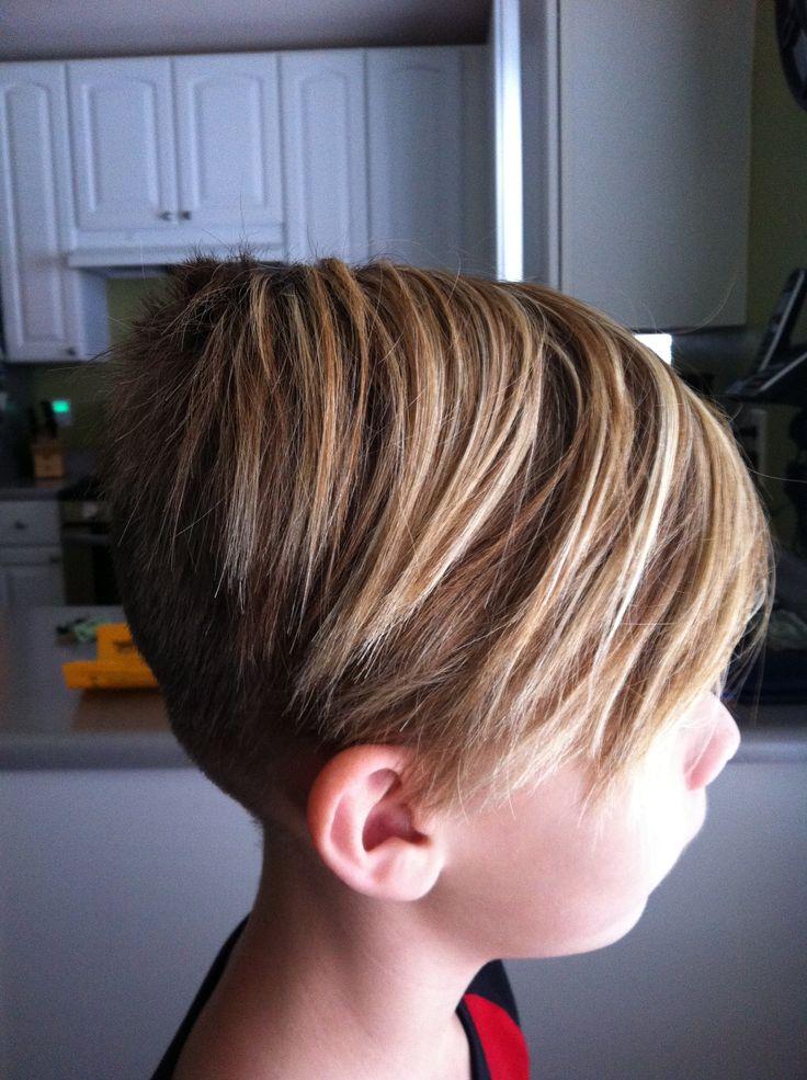 Hair Style Kating : Boys skater cut S t y l e - K l e i n t j e s Pinterest