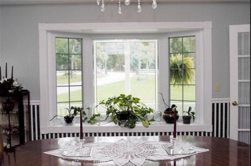 bay window at dining room design home improvement pinterest