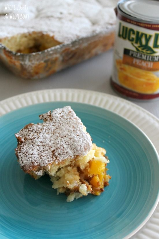 Peach Buckle | Recipe