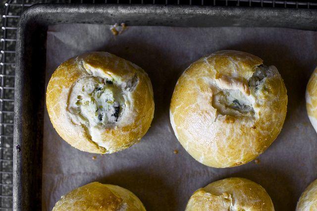potato knish, two ways by smitten, via Flickr