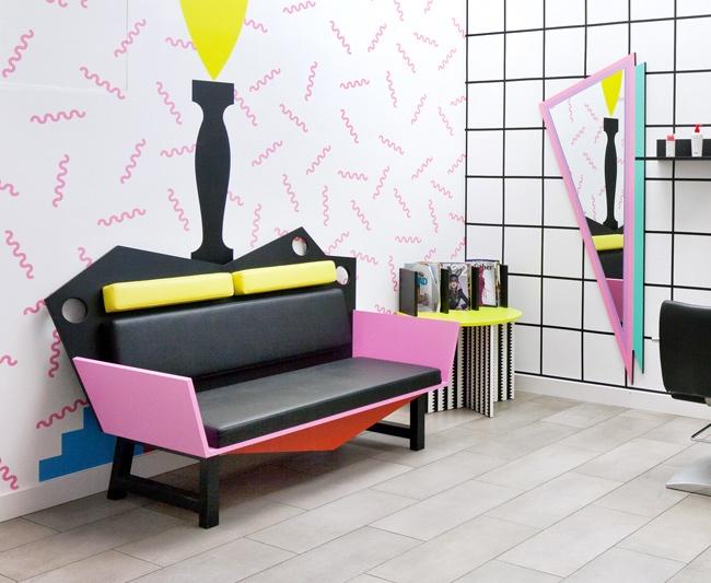 Interior Design 80 39 S Boutique 80s Interior Pinterest