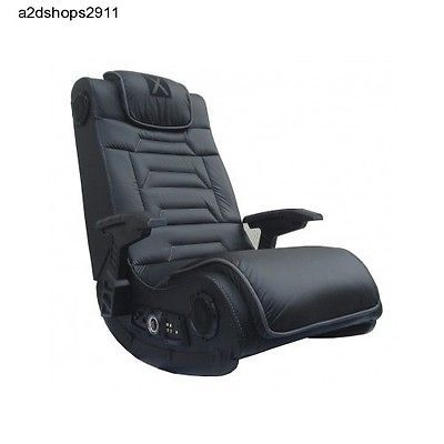 Padded Wireless Video Game TV Music Vibrating Chair w 4