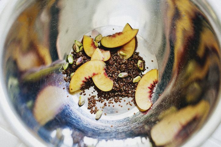Nectarine Fennel Red Quinoa Avocado Salad - Serves 4 as side - from ...