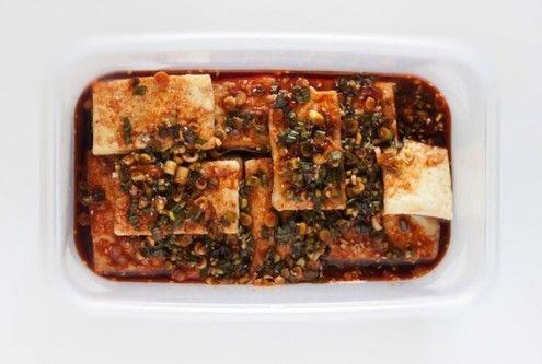 Braised Tofu In Spicy Sesame, Peanut Sauce Recipes — Dishmaps