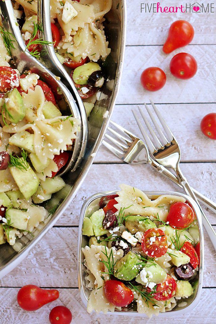 Feta And Kalamata Olive Tortellini Pasta Salad Recipe — Dishmaps
