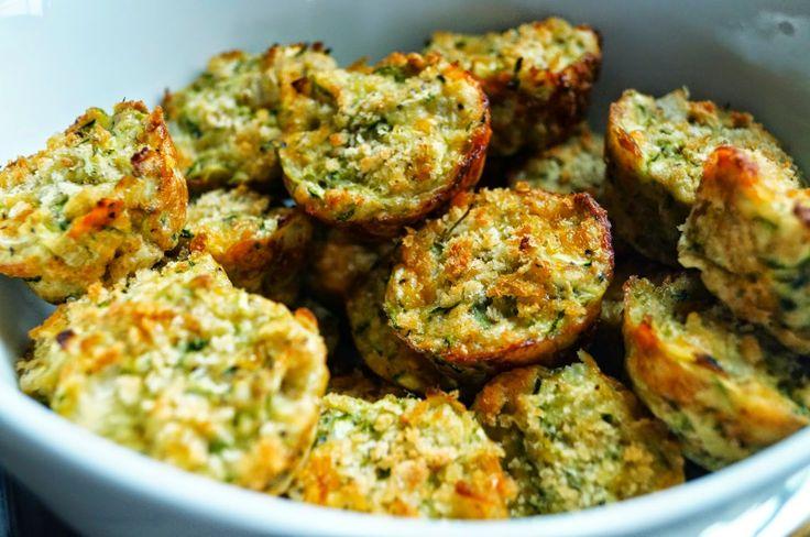 Healthy Zucchini Tots | Food | Pinterest