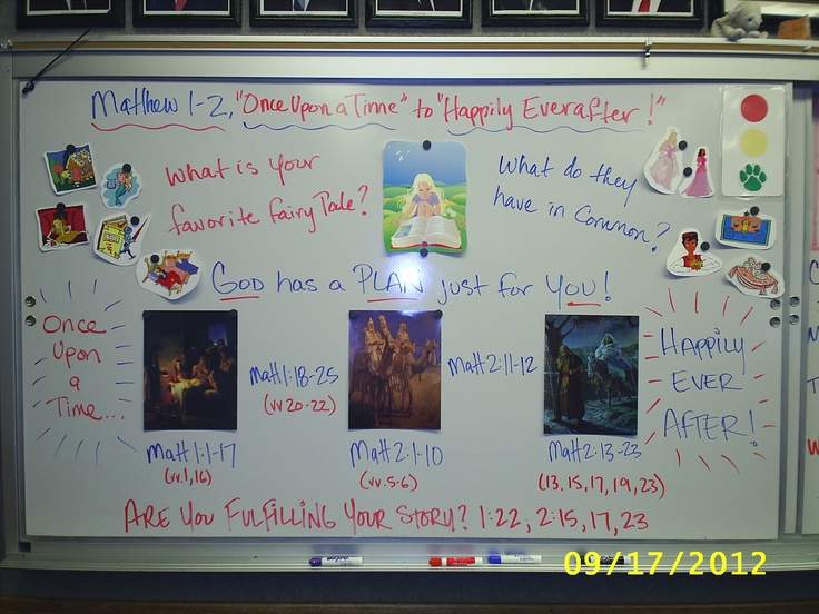 """Matthew 1-2, """"Once Upon a Time"""" to """"Happily Ever After""""--God's Plan ..."""