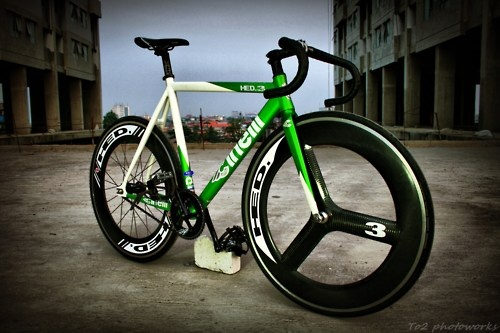 Cinelli mash green #bike #fixed #gear