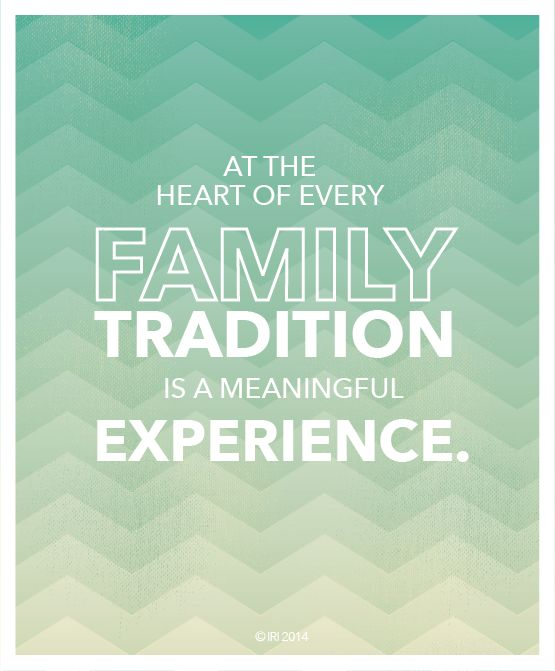 A podcast with Linda Burton and Jean Stevens on the value of family traditions.
