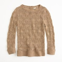 Crochet Sweater - ShopStyle - ShopStyle for Fashion and