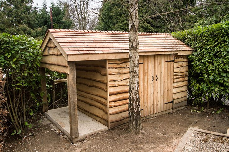 Cool shed random stuff pinterest for Garden shed ideas uk