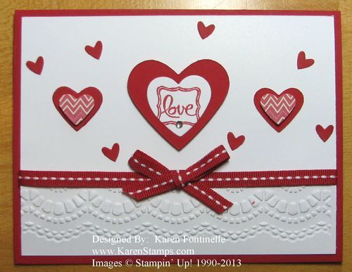 valentine card design