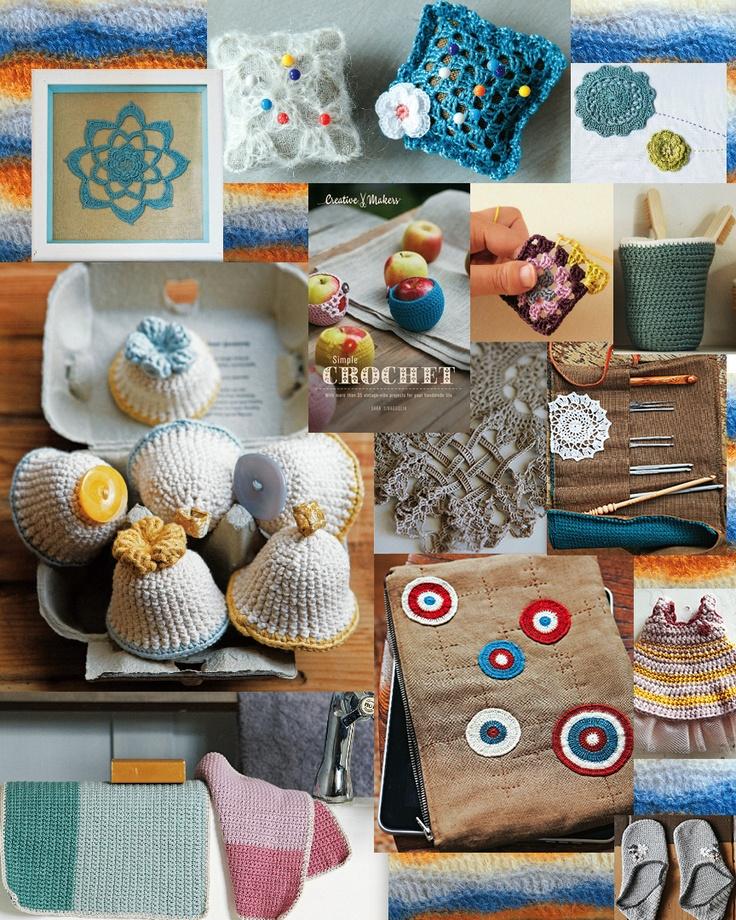 Teach Yourself How To Crochet : photographs demonstrating how easy it is to teach yourself crochet ...