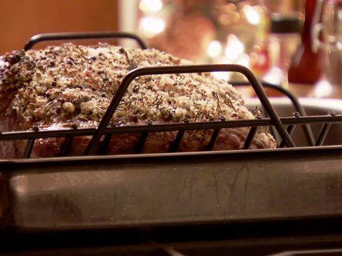 Rosemary Salt Crust Prime Rib Video : Food Network - FoodNetwork.com