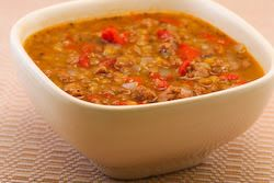 Lentil Soup Recipe with Italian Sausage and Roasted Red Peppers | Rec ...