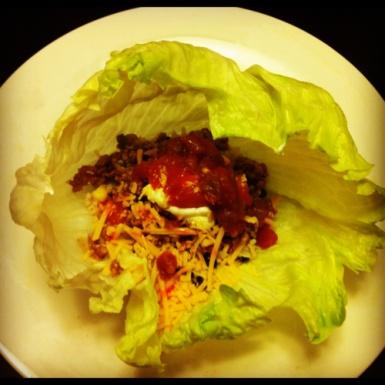 Turkey Taco Lettuce Wraps | A Life O Flavor | Pinterest