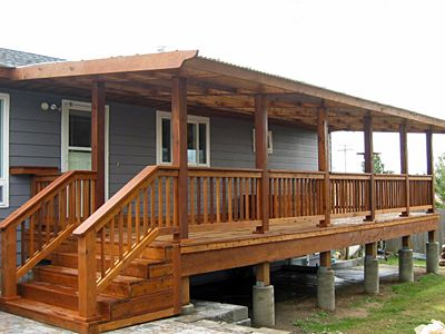 how to build a deck over a flat roof correctly