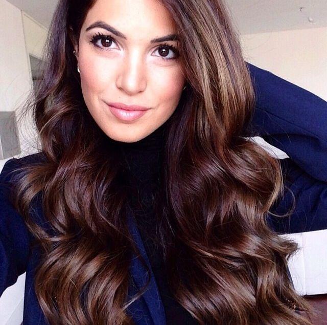 Dark Fall Hair Color  HairampMakeup  Pinterest